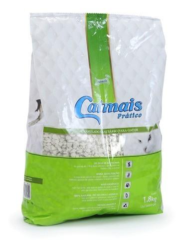 Catmais Prático Granulado Sanitário 1,8kg Petmais