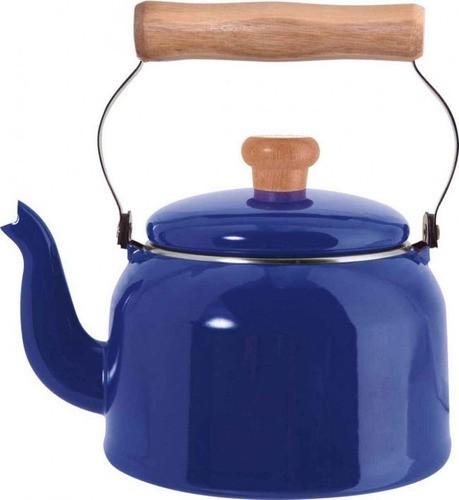 Chaleira Esmaltada Nº16 Ewel - Azul