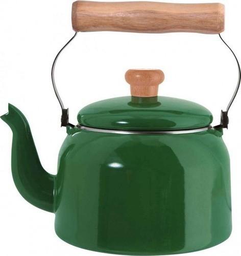 Chaleira Esmaltada Nº16 Ewel - Verde