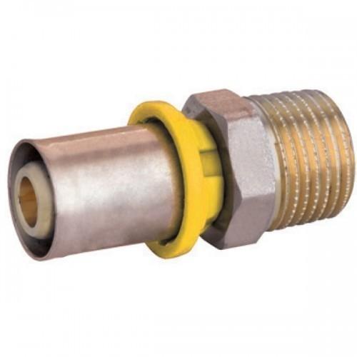 conector pex emmeti 1'M x 26mm prensar