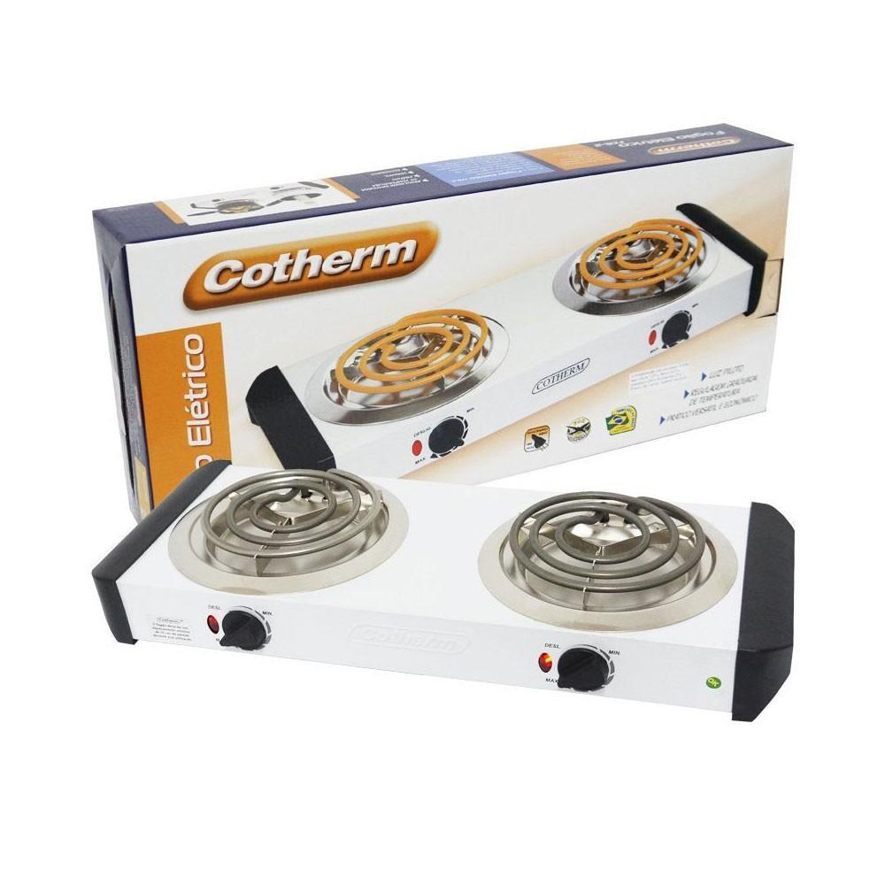 Fogão elétrico 2 bocas 2000W Cotherm-220 V
