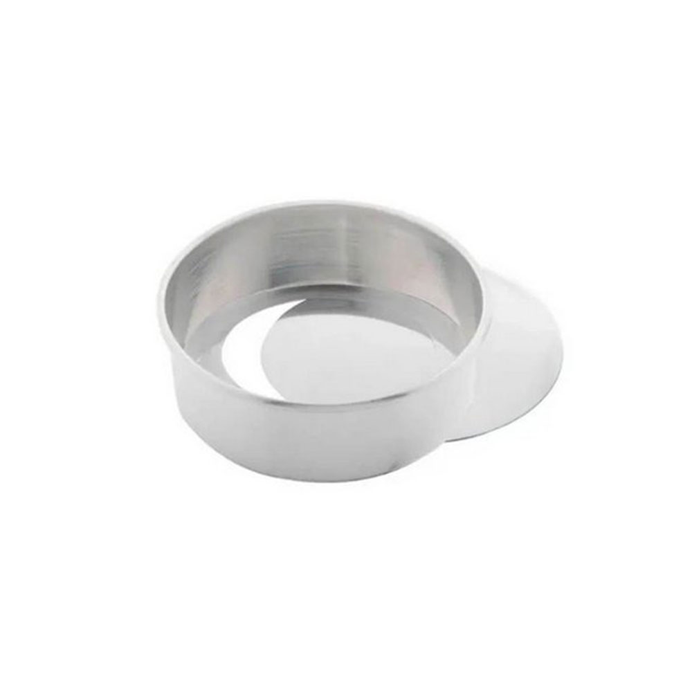 Forma Alumínio Redonda Fundo Falso 27x8cm Caparroz