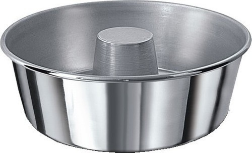 Forma de alumínio 20 cm pudim/bolo - Real