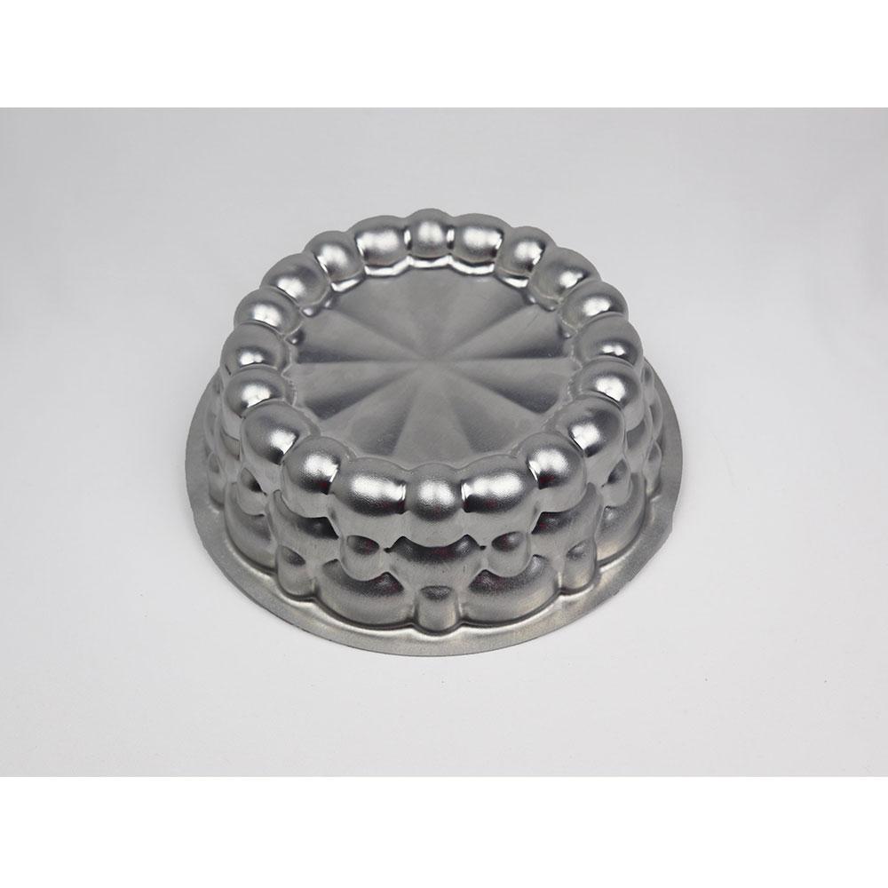 Forma de Aluminio para Bolo Mini Muralha 6PCS - Caparroz