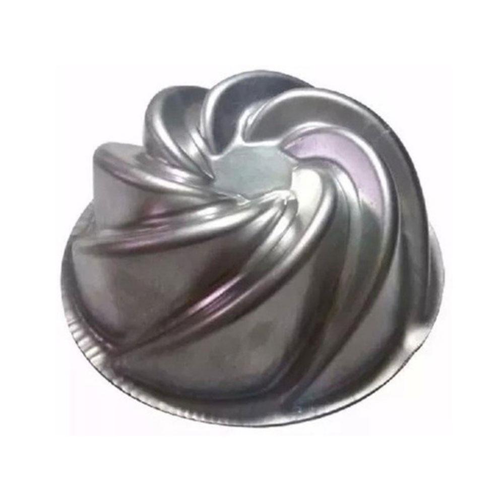 Forma de Aluminio para Bolo Vulcão 21X9 Caparroz