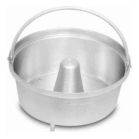 Forma de alumínio para Pudim para Panela de Pressão Nigro