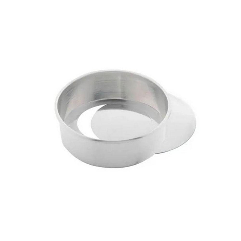 Forma de  Aluminio Redonda Fundo Falso 20X7CM Caparroz