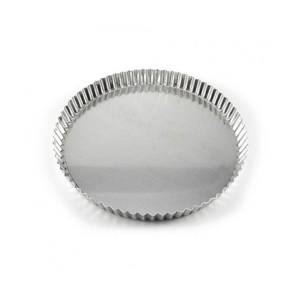 Forma de Aluminio Torta de Maçã Fundo Fixo 24CM Caparroz