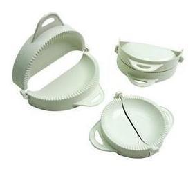 Forma para Pastel/fogazza 3 Peças de Plastico Keita