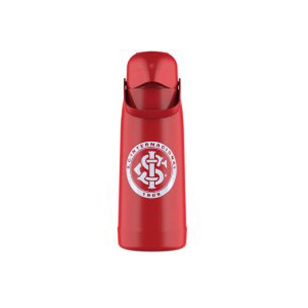 Garrafa Térmica Pressão 1.8 Lt Pump Decorada Vermelha Termol