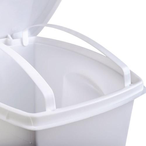 Lixeira De Plástico Pedal 3 Em 1 33litros Plasútil
