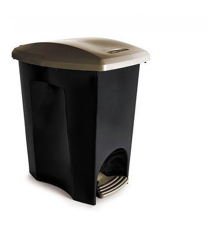 Lixeira Pedal Plástico 15Lts EcoBlack Plasútil
