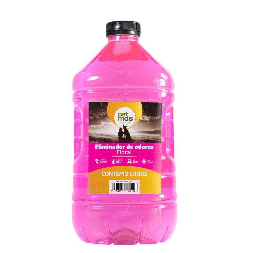 Neutrodor Eliminador de Odor Floral 2L 4 unidades Petmais
