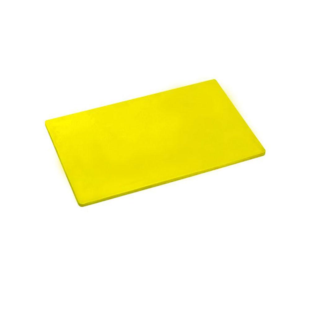 Placa Polietileno Amarela Kitplas 30x50