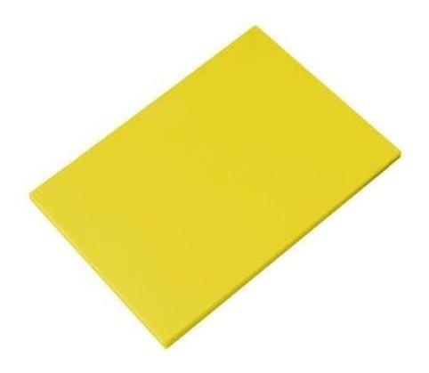 Placa Polietileno Amarela P Kitplas