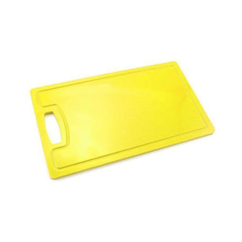 Placa Polietileno c/ alça Amarela Kitplas 30x50