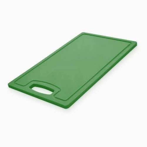 Placa Polietileno c/ alça Verde Kitplas 30x50