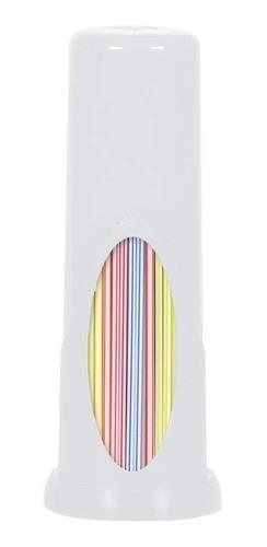 Porta Canudo Plástico Branca - Plasútil