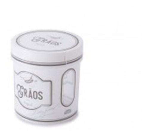 Porta Mantimento Plástico Para Grão 1,2lt Edu Guedes Plasutil
