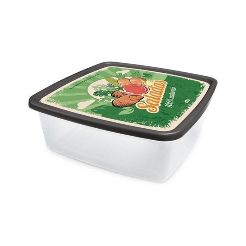 Pote Pl Plasutil Quad Retro 6.6Lt Salada