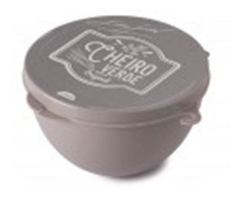 Pote Plástico Porta Tempero Cheiro Verde Edu Guedes Plasutil