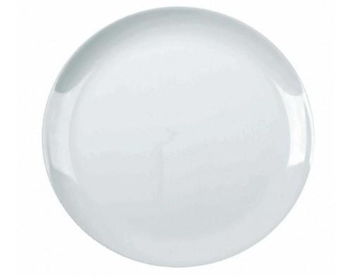 Prato de Louça Raso 27cm Blanc Opaline Nadir