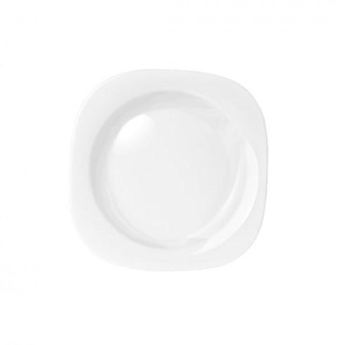 Prato de Louça Sobremesa 19cm Plaza Opaline