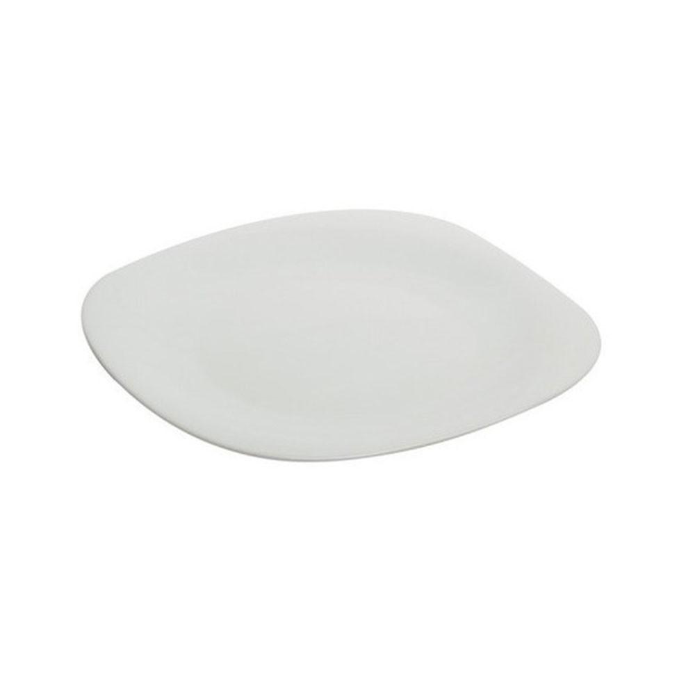 Prato Louça Raso 27cm Quadrado Chefline
