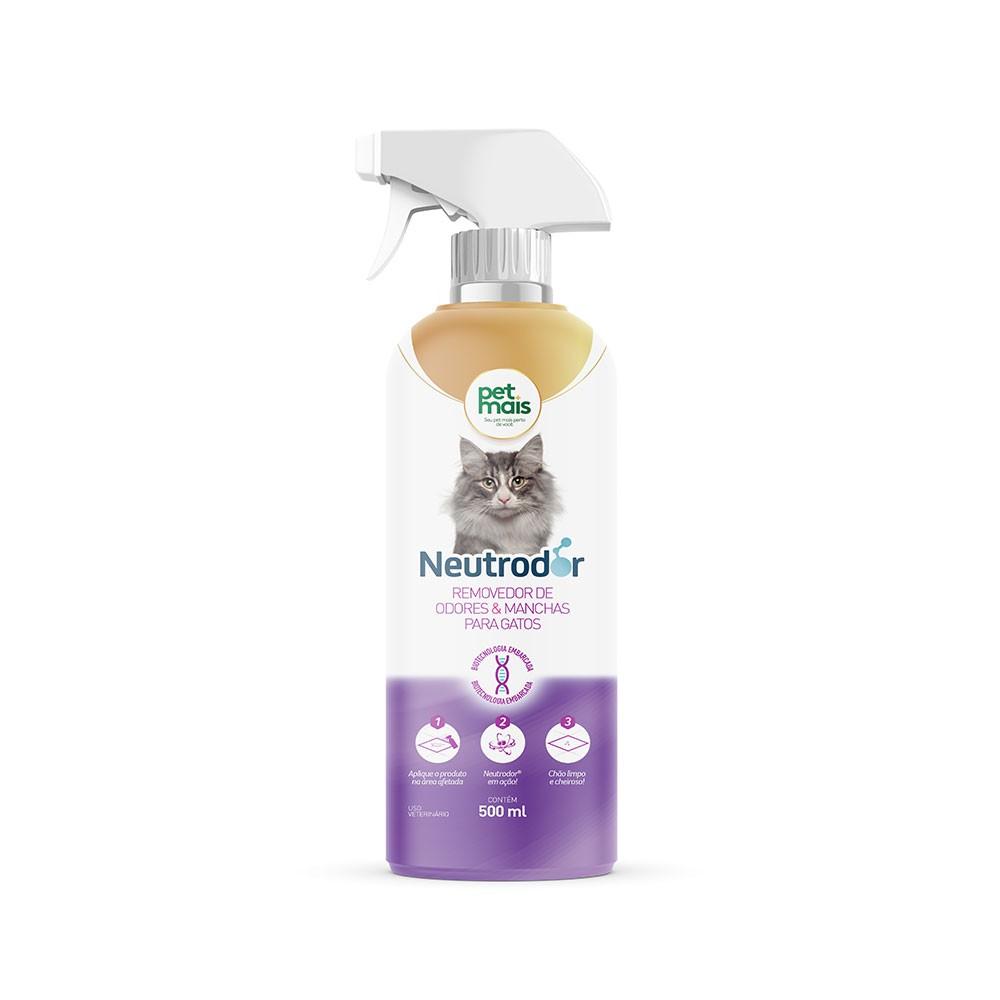 Removedor De Odores Petmais Neutrodor Gatos Kit Com 6 Unidad