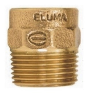 Solda Conector 1 1/4M X 35MM S/ Anel Eluma