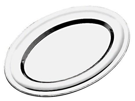 Travessa Inox Oval 35cm - Kehome