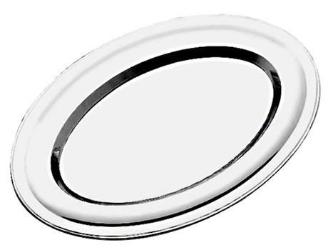 Travessa Inox Oval 40cm Kehome