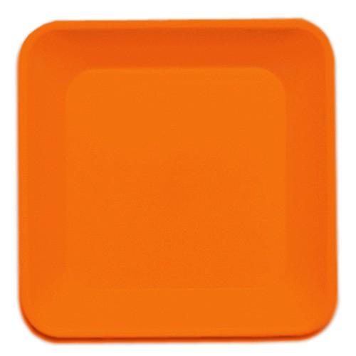 Travessa Laranja de Plástico 150x150 Supercron