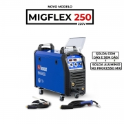 Solda Migflex 250 Multiprocesso  Boxer