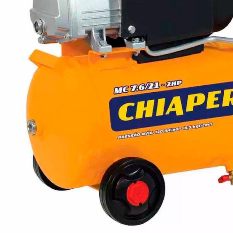 Compressor Ar 7.6/21l 2hp 220v