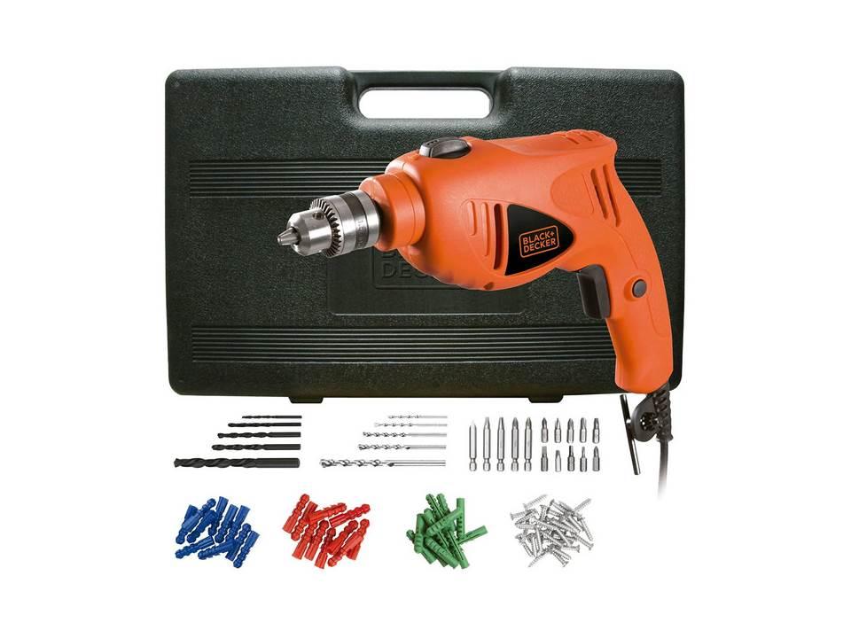Furadeira 3/8 Hd400k50 220-550w C/kit