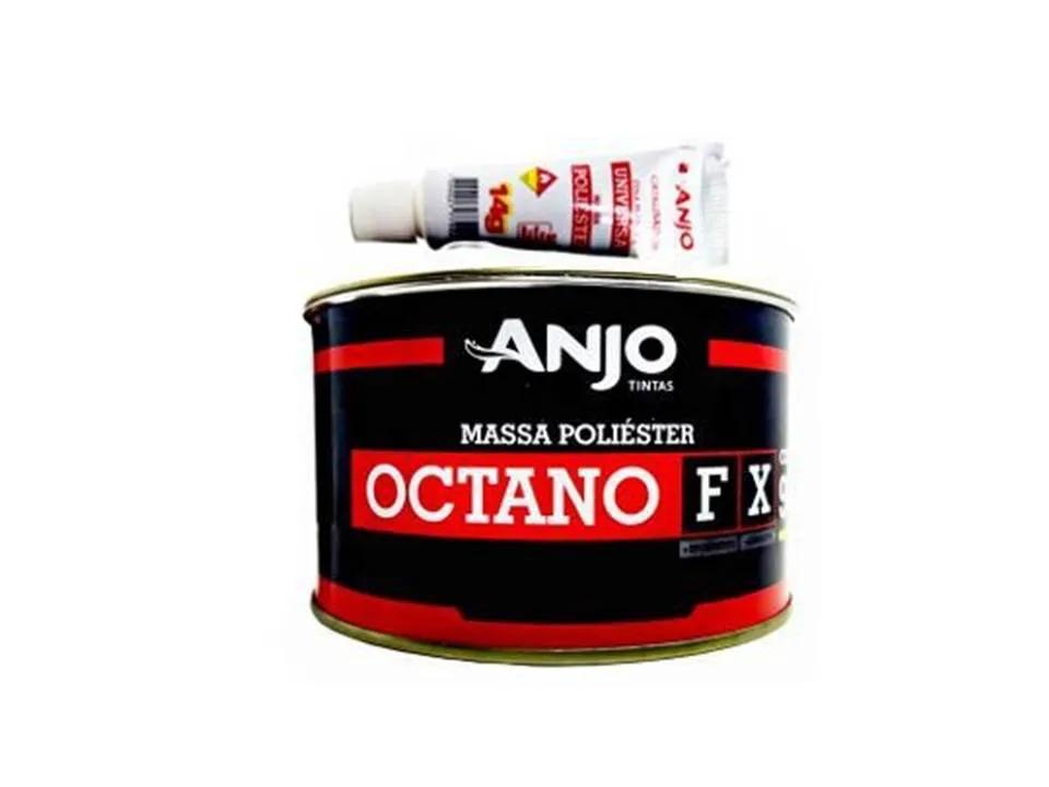 Massa Poliéster Octano Fx 900g Anjo