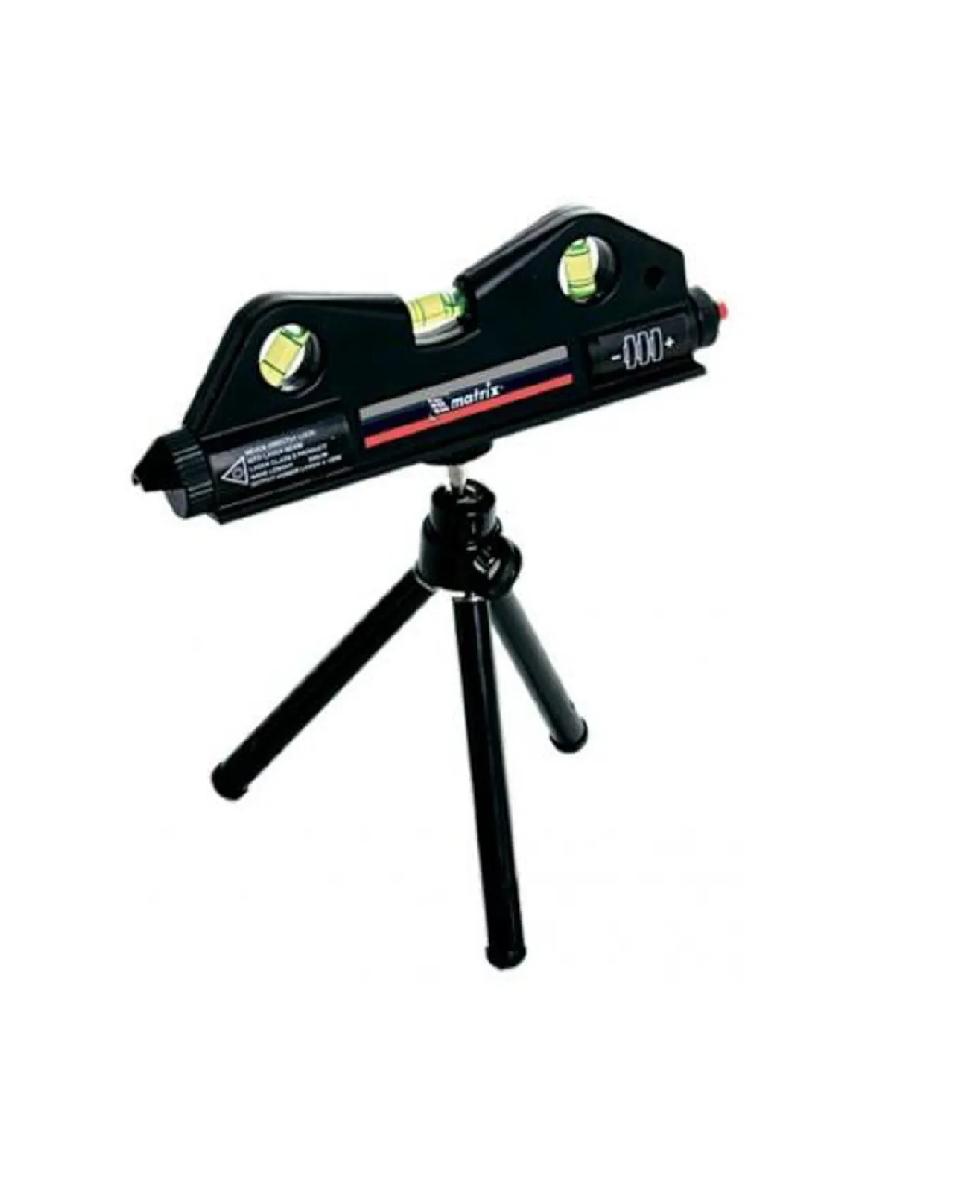 Nivel A Laser C Tripé 150mm 3 Bolhas Mtx