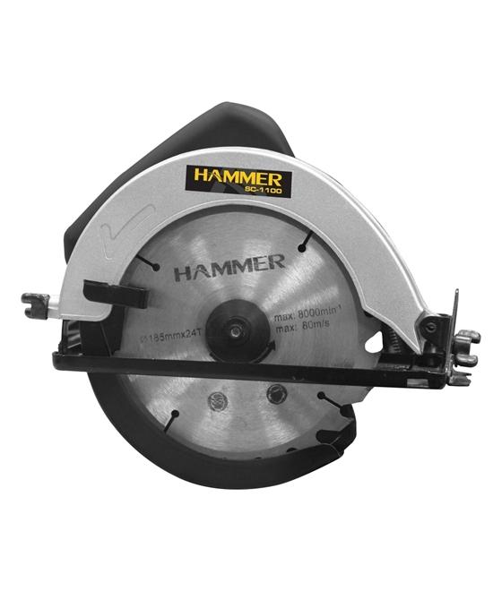 Serra Elet. Circ 7.1/4 1100w 127v Hammer