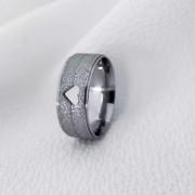 Aliança 1000C em Aço Inox 7mm (Feminina)