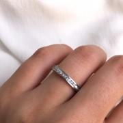Alianças/Aparador Gênova em Aço Inox 3mm (Feminina)