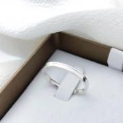 Alianças Gênova em Prata 2mm (Masculina)