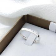 Aliança Gênova em Prata 2mm (Masculina)