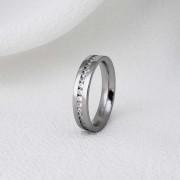 Aliança Veneza em Aço Inox 4mm (Feminina)