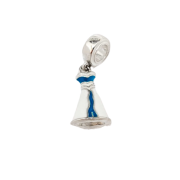 Berloque  Vestido em Prata 925