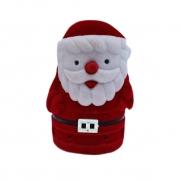 Caixinha em Veludo Papai Noel