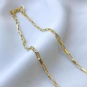 Corrente Cartier Elo Médio em Ouro 18K 60cm