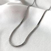 Corrente em aço Inox Veneziana Dupla 70cm