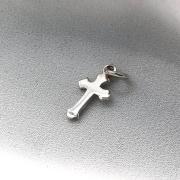 Pingente Cruz em Prata 925 Pequena
