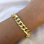 Pulseira Groumet em Ouro 18K 23cm